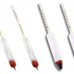 Calibração de densímetro